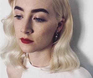 lipstick, Saoirse Ronan, and eyebrows image