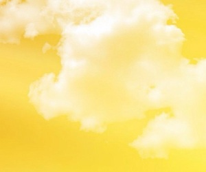 yellow and clouds image