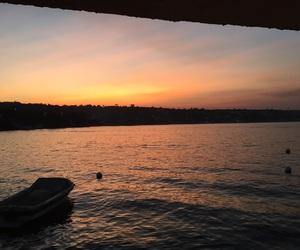 lake, nice, and sky image