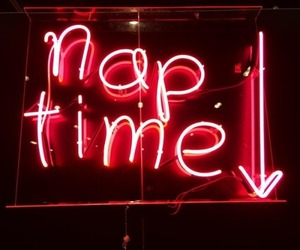 neon, neon sign, and red image
