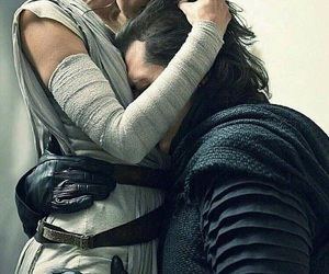 star wars, rey, and adam driver image