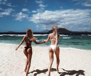 besties, girls, and summer image