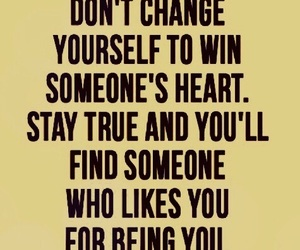 quotes, self esteem, and stay true image