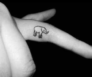 tattoo and finger tattoo image
