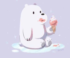 we bare bears and ice bear image