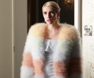emma roberts, scream queens, and fashion image