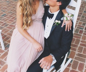 couple, love, and Prom image