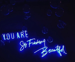 beautiful, blue, and light image