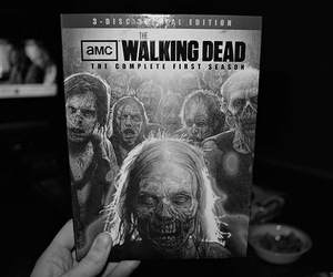 the walking dead and dvd image