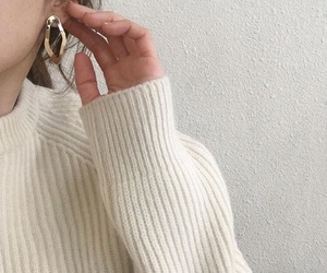 beige, clothing, and brown image