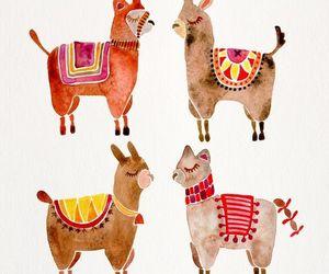 alpaca, lama, and llama image