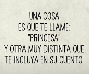 desamor, frases, and princesa image