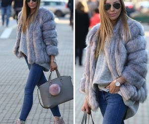 blonde, fashion, and street style image