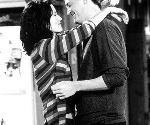 friends, chandler, and couple image
