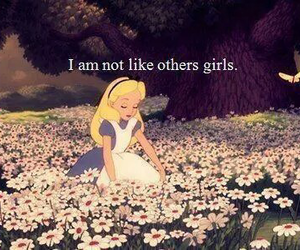 alice wonderland, girls, and myself image