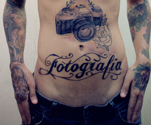 tattoo, boy, and photography image