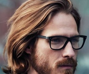 mens long hairstyles image