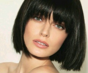 bangs, cut, and style image