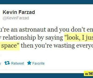 astronaut, funny, and space image