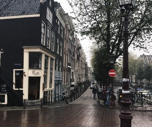 amsterdam, beautiful, and canal image