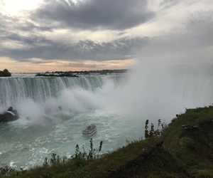 explore, goals, and waterfall image