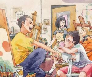 anime, art, and boys image