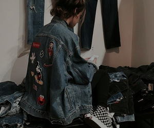 girl, grunge, and alternative image