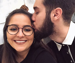 cute couples, cuteness, and eyeglasses image