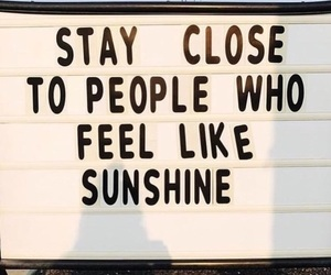 happy, sunshine, and quote image