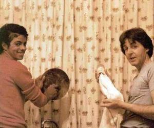michael jackson, Paul McCartney, and the beatles image