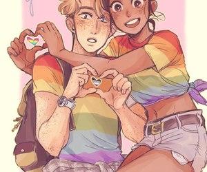 bi, gay, and lesbian image