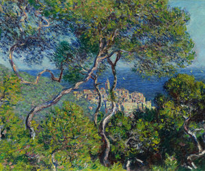 bordighera, claude monet, and impressionism image