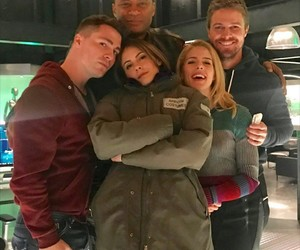 arrow, cw, and willa holland image