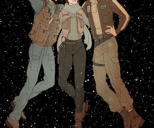 star wars, rogue one, and jyn erso image