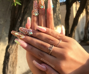 nail inspo, tumblr+instagram, and glam+glamour+luxury image