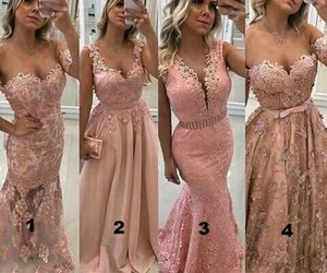 beautiful, long dress, and loveit image