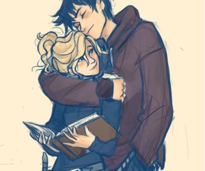 love, percabeth, and percy jackson image