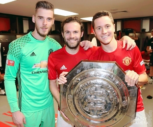 football, manchester united, and david de gea image