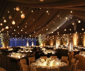 atmosphere, lights, and wedding image