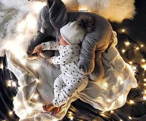 baby and lights image