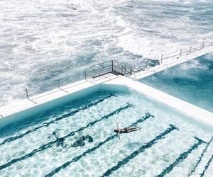 pool, indie, and summer image