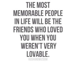 life, quotes, and friends image