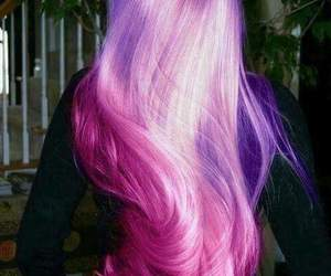 beauty, colors, and hair image