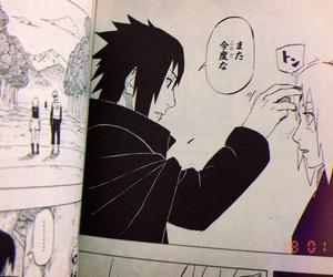 moment, sakura, and sasuke image