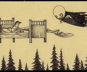 art, creepy, and monster image