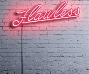flawless, neon, and pink image