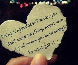 love, single, and heart image