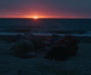 Alyssa, james, and sunset image