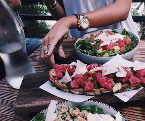 food, salad, and yummy image