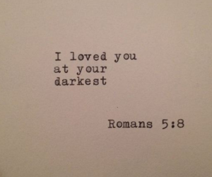 love, quotes, and bible image